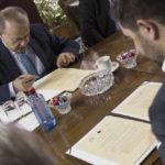 Potpishuvanje na memorandum za sorabotka so Ministerstvo za ekonomija.